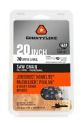 3/8 Lp .050 Gauge 70 Dl 7/32 File Size Chainsaw Chain For Echo Chainsaws
