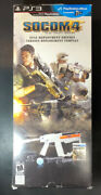 Socom 4 Us Navy Seals [ Full Deployment Edition / Ps Move Bundle ] Ps3 Used