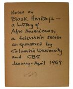 African American History / Notes On Black Heritage History Of Afro Americans