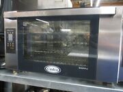 Used Cadco Xaft-04hs-td Half-size Countertop Convection Oven, 208 240v/1ph
