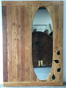 Rustic Reclaimed Lumber Barn Door With Rail System 67.75 X 96 X 1.5 In Stock