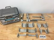 Codman Surgical Ortho Neuro Karlin Crank Frame Retractor Set With Case M2054