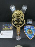 Police Family Member Package Official Windshield Badge National Departments