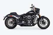 Freedom Turnout 2-1 Pitch Black Series M8 Softail Hd00812