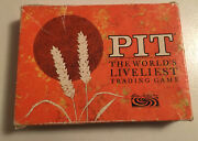 Pit The World's Liveliest Trading Game Card Complete Vintage 1964 Parker Brother