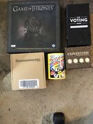 Lot Of 5 Game Of Thrones Game Voting Game Roll Call Upside Down Challenge Exped