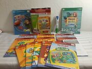 Leapfrog Leapreader Reading And Writing System Tag Lot Pen Charger Books Euc
