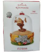 Wizard Of Oz Christmas Ornaments Twister/cowardly Lion