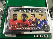 2020-21 Topps Uefa Champions League Museum Collection Soccer Box Sealed