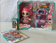 Kindi Kids Fun Oven W/ Donatina Doll And Exclusive Shopkins➕watch And Coloring Book