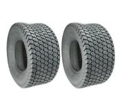 Two 20x10.50-8 Turf Tires 20x10.50-8 Scag Exmark 4 Ply Rated Premium Brand