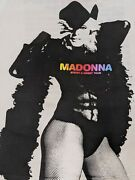 Madonna Sweet And Sticky White T Shirt Tour Xl Woman 2008 No Reprint Official