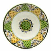 Majolica Large Wall Plate 22d