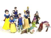 Disney Snow White And The Seven Dwarves Evil Queen Cake Topper Figures Toy