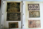 European World War Ii Wartime Bank Notes. Germany France And Others. 2456