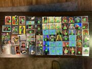 Lot Of 100 Star Wars And Star Trek Non Sports Trading Cards Foils Sp See Pics