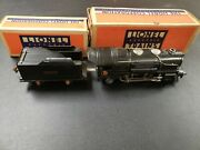 Lionel Pre War 259 Locomotive And 259t Tender, Boxes