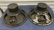 Western Electric / Ipc Lu-1004 215andrdquotheater Speakers Working Tested 6.4/6.8ohm
