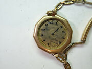 Elgin Gold Filled Antique Vintage Watch For Restoration Repair Or Trench Parts