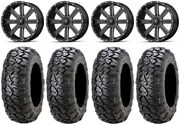 Msa Milled Flash 18 Wheels 34 Ultracross Tires Can-am Defender