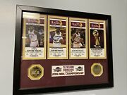 Cleveland Cavaliers 2016 Championship Framed Lebron James Kyrie Irving