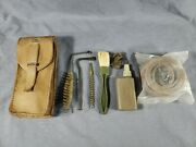 Vtg Original French Military Mas 49/56 Rifle Cleaning/spare Parts Kit Surplus