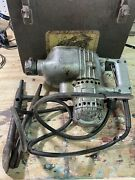 Vintage Thor U100 Hammer Drill Electric Tools 115v 3.8amps Works Dry Cord