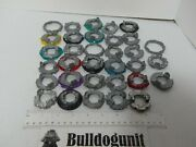 Lot Of 33 Assorted Beyblade Forge Metal Disc Only Replacement Parts Only
