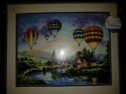 Gold Collection Counted Cross Stitch Dimensions Kit Balloon Glow 16x12