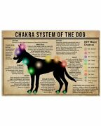 Chakra System Of The Dog Funny Poster For Friend For Decor Your Sweet Home