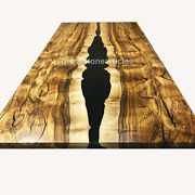 Made To Order Epoxy Table Custom Acacia Wood Epoxy Resin Dining Table Furniture