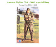 Japanese Fighter Pilot - Wwii Imperial Navy Tamiya   No. 36312   116