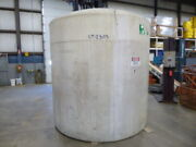 Used Cylindrical Tank - 2600 Gallon Poly Round Tank Ct2303-tanks-cylindrical