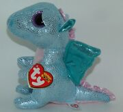 New Ty Beanie Boos Holly The Dragon Claireand039s Exclusive 6 Size