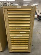 Equipto 18-drawer Tool/equipment Storage Cabinet W/ Electrical Components