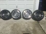 4 Used Ford Mustang 2013-14 Rims W Tires