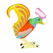 Vibrant Rooster - Oaxacan Alebrije Wood Carving