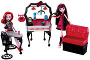 Monster High Diener Playset With Draculaura And Operetta Dolls