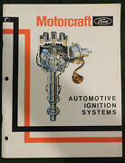 Ford Mercury Lincoln Motorcraft Automotive Ignition Systems Service Manual Book