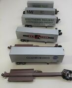 Ho Scale Southern Pacific 5 Unit Spine Cars With Trailers