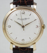 International Watch Company 18k Pink Gold Calibre 89 - White Dial 1952