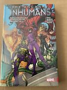 Marvel Uncanny Inhumans Vol 01 - Hardcover New And Sealed