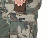 Menand039s Wrangler Camo Cargo Shorts W Flex Relaxed Fit Above Knee All Sizes 34-46