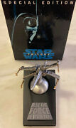 Star Wars X-wing Fighter W/ Base And Box Rawcliffe Pewter 1996 Limited Edition