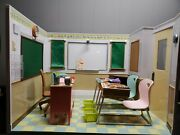 Our Generation Awesome Academy Battat School Room Set With Desks And Accessories