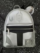 Loungefly Grotto Exclusive The Mandalorian Le1500 Star Wars Mini Backpack Nwt