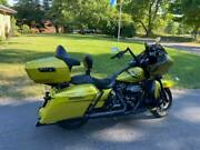 Eagle Eye Yellow King Tour Pack For Harley Street Road Electra Glide 1997+
