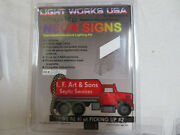 Miller Engineering I.f.art Animated Ho/o Scale Neon Sign 1281
