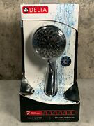 Delta Faucet 7-spray Touch-clean Hand Held Shower Head With Hose, Chrome 75700