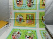 Let's Go Camping Fabric Book Panel Nos